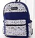 Городской рюкзак Happiness, urban104, синий, 12 л., фото 2