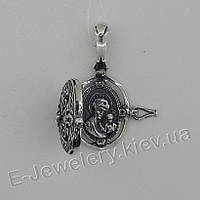 """Открывающийся медальон с иконой """"3081/1"""""""