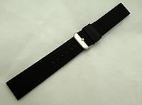 Ремешок каучуковый черный универсальный (18,20,22,24,26 мм)