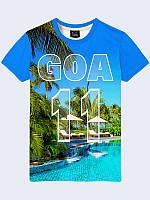 Мужская футболка Индия Гоа