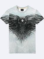 Мужская футболка Игра престолов Ворон