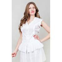 Очень красивая женская блуза белого цвета