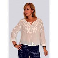 Легкая модная летняя женская блуза
