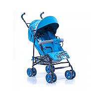 Детская коляска-трость Geoby голубая