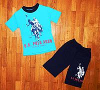 Летний костюмчик Поло для мальчика 4- 8 лет