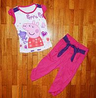 Яркие костюмчики Пеппа для девочек