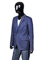 Мужской пиджак темно-синего цвета.Нова коллекция!Стильно,модно,недорого!