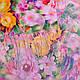 Женский шифоновый шарф 179 на 68 см SOFTEL (СОФТЕЛ) SAT17575, фото 2