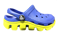 Crocs Duet Sport Clog Blue Green W женские оригинал