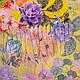 Женский креативный шифоновый шарф 180 на 68 см SOFTEL (СОФТЕЛ) SAT17554, фото 2