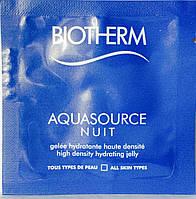 Ночное увлажняющее средство для лица AQUASOURCE Biotherm 1ml
