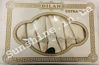 Скатерть Dilan ExtraVip Турция 160х220 + 8 салфеток с держателями Versace