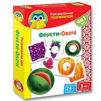Настольная игра Vladi Toys Фрукты-овощи (укр.) (VT1306-06-1)