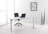 ConSet m49 Эргономичный стол регулируемый по высоте для работы стоя и сидя c электроприводом (White)