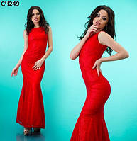 Женское вечернее платье в пол 42-44