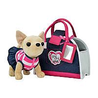 """Мягкая игрушка «Chi Chi Love» (5890599) собачка Чихуахуа """"Модный джинс (Denim Fashion)"""", 20 см"""