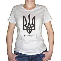 "Женская футболка ""I Love Ukraine"""