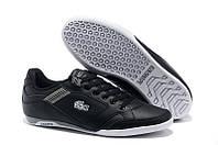 Мужские кроссовки Lacoste (Лакост) черные
