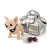 """Мягкая игрушка «Chi Chi Love» (5895104) собачка Чихуахуа """"Серебристый гламур (Glamorous)"""", 20 см"""