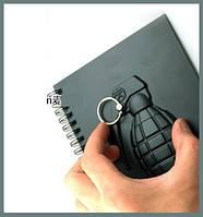 """Армейский блокнот в стиле милитари """"Граната"""""""