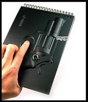 "Армейский блокнот в стиле милитари ""Револьвер"""