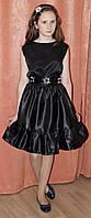 Нарядная летняя юбка для девочки с поясом.