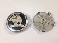 Заглушки колпачки литых дисков Skoda 68mm новый тип