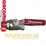 Giacomini Шаровый кран 3*4 дюйма, ручка, н-в, вода