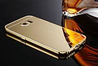 Чехол-бампер для телефона+зеркальная задняя крышка Samsung Galaxy S6 SM-G9200