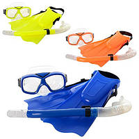 Набор М1810 для плавания маска, ласты
