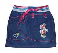 Юбка детская джинсовая 2,3,4,5 Турция полномерная
