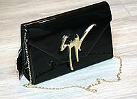 Женская сумка Zanotti черная, сумка через плечо
