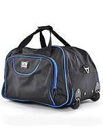 Стильная дорожная сумка на колесиках E-FANCY