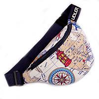 Поясная сумка для путешественника