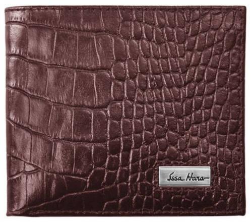 Функциональное мужское портмоне, горизонтальное, кожаное ISSA HARA WB1 (22-00)