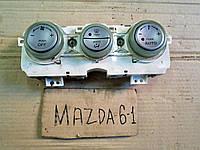 Блок управления отопителем и климат контроля для Mazda 6, АКПП, 2.0i, 2004 г.в. GJ6R61190A