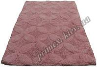 """Индийский коврик ручной работы для ванной """"Стежок"""", цвет - розовый"""
