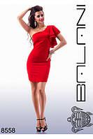 Красивое платье на одно плечо 42-48р, доставка по Украине