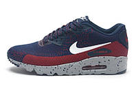 Крутые мужские кроссовки для спорта, бега Nike Air Max 90 Flyknite (модные спортивные новинки лето)