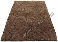 """Индийский коврик ручной работы для ванной """"Дайм"""", цвет - коричневый"""