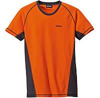 Футболка Logger, оранжева, розмір XXL