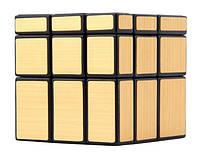 Зеркальный кубик Рубика 3x3x3 (золотистый) SKU0000224