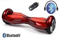 Гироборд ProLogix Base-X красный, 6.5 дюймов, мотор 700 Вт, скорость 10 км/ч, до 100 кг, Bluetooth, сумка