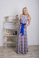 Длинное летнее женское платье , фото 1