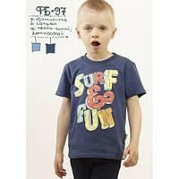 Хлопковая футболка для мальчика Робинзон  рост 134,140