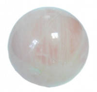 Шар розовый кварц натуральный камень