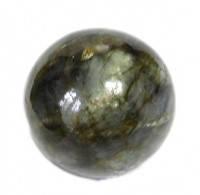 Шар из лабродоита натуральный камень