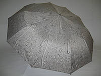 """Женский зонтик полуавтомат, """"капли дождя"""" №714 от фирмы """"MAX KOMFORT"""""""
