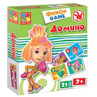 Настольная игра Vladi Toys Фиксики домино (рус. язык) (VT2107-01-2)