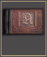 Кожаная карманная визитница